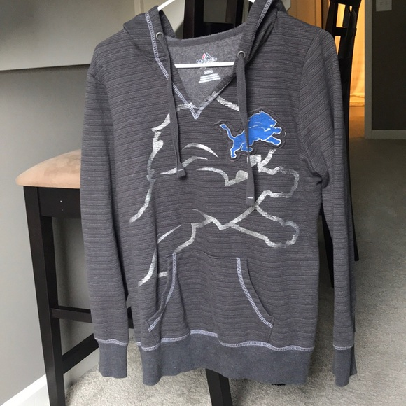 hot sale online 2680a dd8cb Detroit lions hoodie women's medium